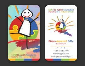 NAYEM1996 tarafından Buisness card for Light Up Autism Foundation için no 616