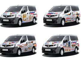 #2 cho Vehicle Wrapping Design bởi Mubeervengara