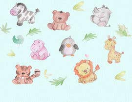 #51 for Digital or hand drawn original art required of baby animals/woodland animals etc - artwork will be children's focused. Experience producing graphics for children's artwork project is a bonus! by luisathomas