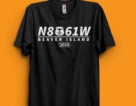 #208 untuk Shirt design for beaver island 2020 oleh bithi24