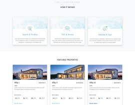 Nro 39 kilpailuun New design for home page (no back-end code change) käyttäjältä nurrahman089