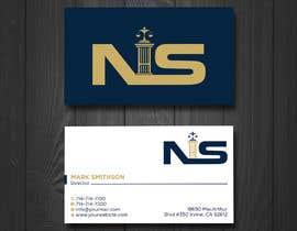 Nro 228 kilpailuun Create a Logo for a law firm website and their Business Cards. käyttäjältä irubaiyet1