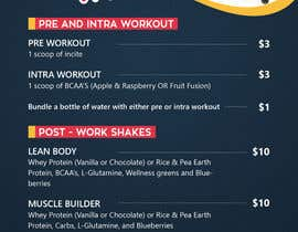#17 for Design a Flyer for a Protein Shake Menu by mufzilkp