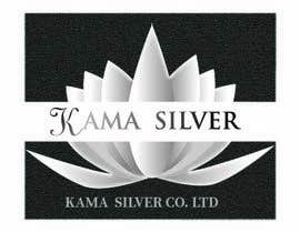Nro 29 kilpailuun Kama silver logo design. I need a logo with lotus in it. For my website. I am a wholesaler of silver jewellery. Need for my website käyttäjältä mou2mou