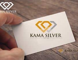 Nro 31 kilpailuun Kama silver logo design. I need a logo with lotus in it. For my website. I am a wholesaler of silver jewellery. Need for my website käyttäjältä Mukhlisiyn