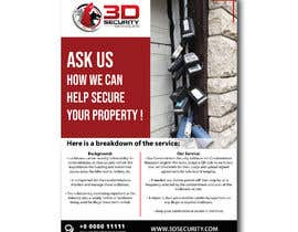 #149 for Flyer for online security service for condominiums by Bigtata