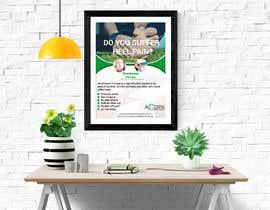 #66 for Podiatry window posters by AbmAlfee08