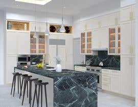 #63 for Neoclassical open kitchen by GJMM