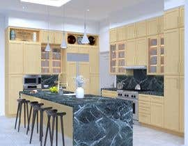 #64 for Neoclassical open kitchen by GJMM