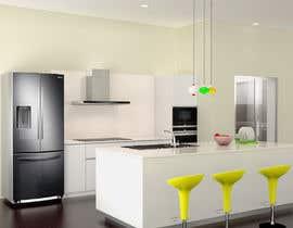 Nro 41 kilpailuun Neoclassical open kitchen käyttäjältä girishkumarar