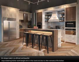 #50 for Neoclassical open kitchen by cooper3dartist