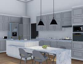 #21 for Neoclassical open kitchen by camilatahan