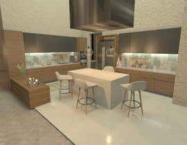 #7 for Neoclassical open kitchen by Mariamkhalil99