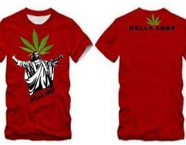 #41 untuk Design a T-Shirt for Hella Loud. oleh vishingangel