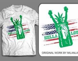 #35 pentru Design a T-Shirt for Hella Loud. de către milanlazic