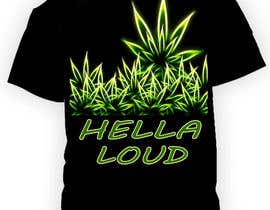 #48 for Design a T-Shirt for Hella Loud. by dilukachinda