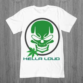 #6 for Design a T-Shirt for Hella Loud. by ezaz09