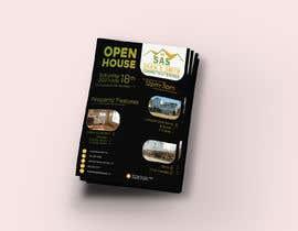Ahmad2409 tarafından Open House Real Estate Flyer için no 58