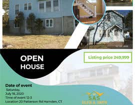 yeasinsheke tarafından Open House Real Estate Flyer için no 60