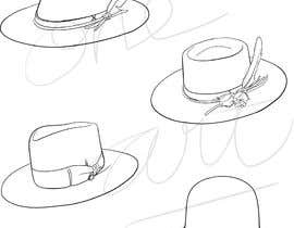 Nro 14 kilpailuun Simple Hat Sketches käyttäjältä One13