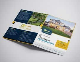 #3 cho Bi Fold Flyer design for a plot sales(Layout )(Real estate) with content improvement. bởi redifa
