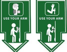 #22 для hand free arm puller door sign от Komal006