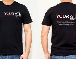 Nro 76 kilpailuun Need a T shirt Designed for tour company käyttäjältä silpeakter2758