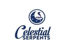 Nro 53 kilpailuun Logo Design - Celestial Serpents käyttäjältä mhrdiagram