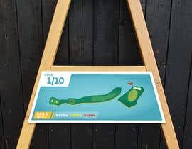 #7 cho golf hole info board design bởi elgu