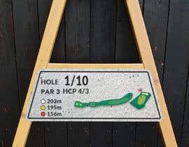 #18 cho golf hole info board design bởi ConceptGRAPHIC