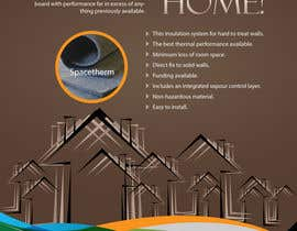 #71 para Advertisement Design for Spacetherm (Construction) por theDesignerz