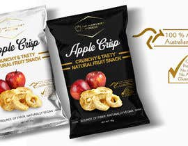 #58 для Package Design (fruit crisps) от reyesonline