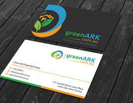 #56 for Create business cards for GreenArk.com.au by tanviruddinsikde