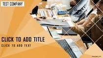 Graphic Design Entri Peraduan #33 for Design a Custom PowerPoint Template