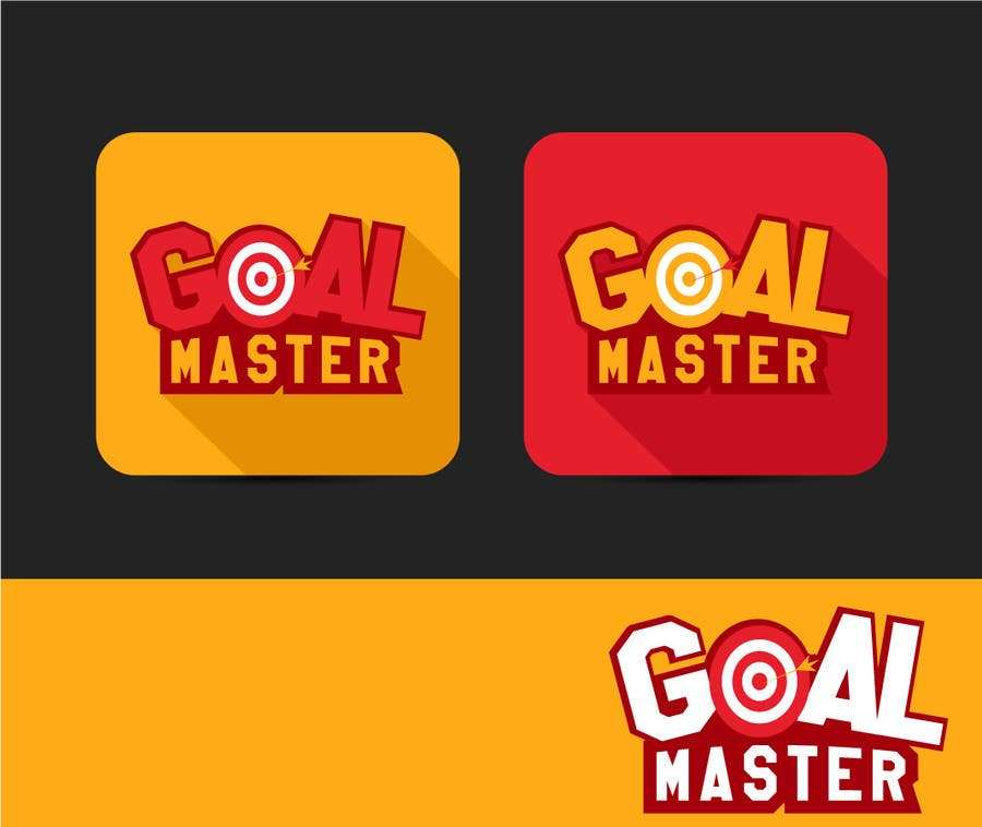 Contest Entry #50 for Design a Logo for an App entitled GOAL MASTER