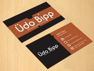 Graphic Design Penyertaan Peraduan #14 untuk Design some Business Cards for Udo Bipp