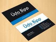 Graphic Design Penyertaan Peraduan #56 untuk Design some Business Cards for Udo Bipp