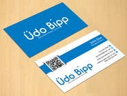 Graphic Design Contest Entry #68 for Design some Business Cards for Udo Bipp
