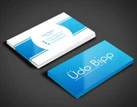#49 untuk Design some Business Cards for Udo Bipp oleh angelacini