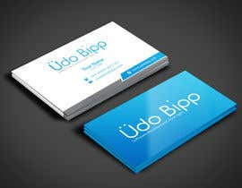 #71 for Design some Business Cards for Udo Bipp by angelacini