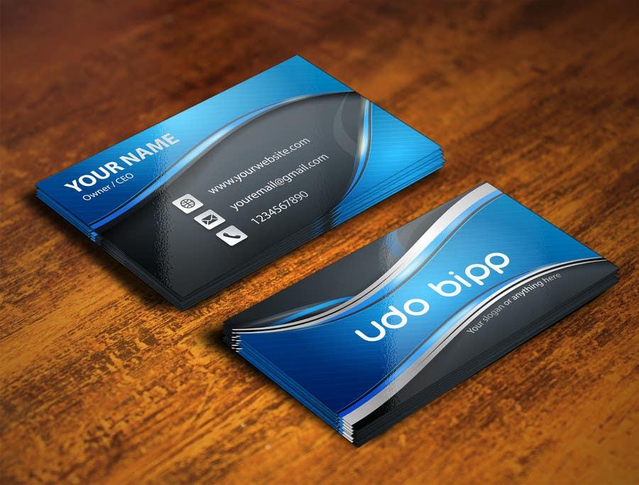 Penyertaan Peraduan #30 untuk Design some Business Cards for Udo Bipp