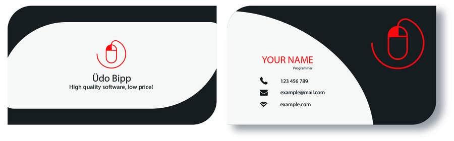 Penyertaan Peraduan #66 untuk Design some Business Cards for Udo Bipp