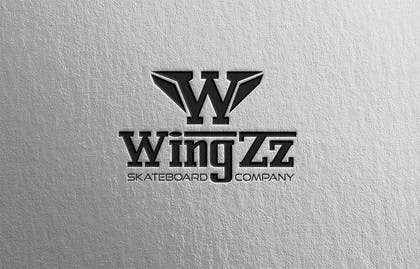 #68 for Design a Logo for WingZz Skateboard Co. by ChKamran