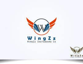 #32 for Design a Logo for WingZz Skateboard Co. by Arindam1995