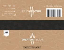 Nro 40 kilpailuun PACKAGING DESIGN for children's socks käyttäjältä DesignerMaster12