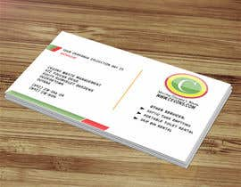 #20 pentru Design some Business Cards for Garbage Collection company de către ayishascorpio