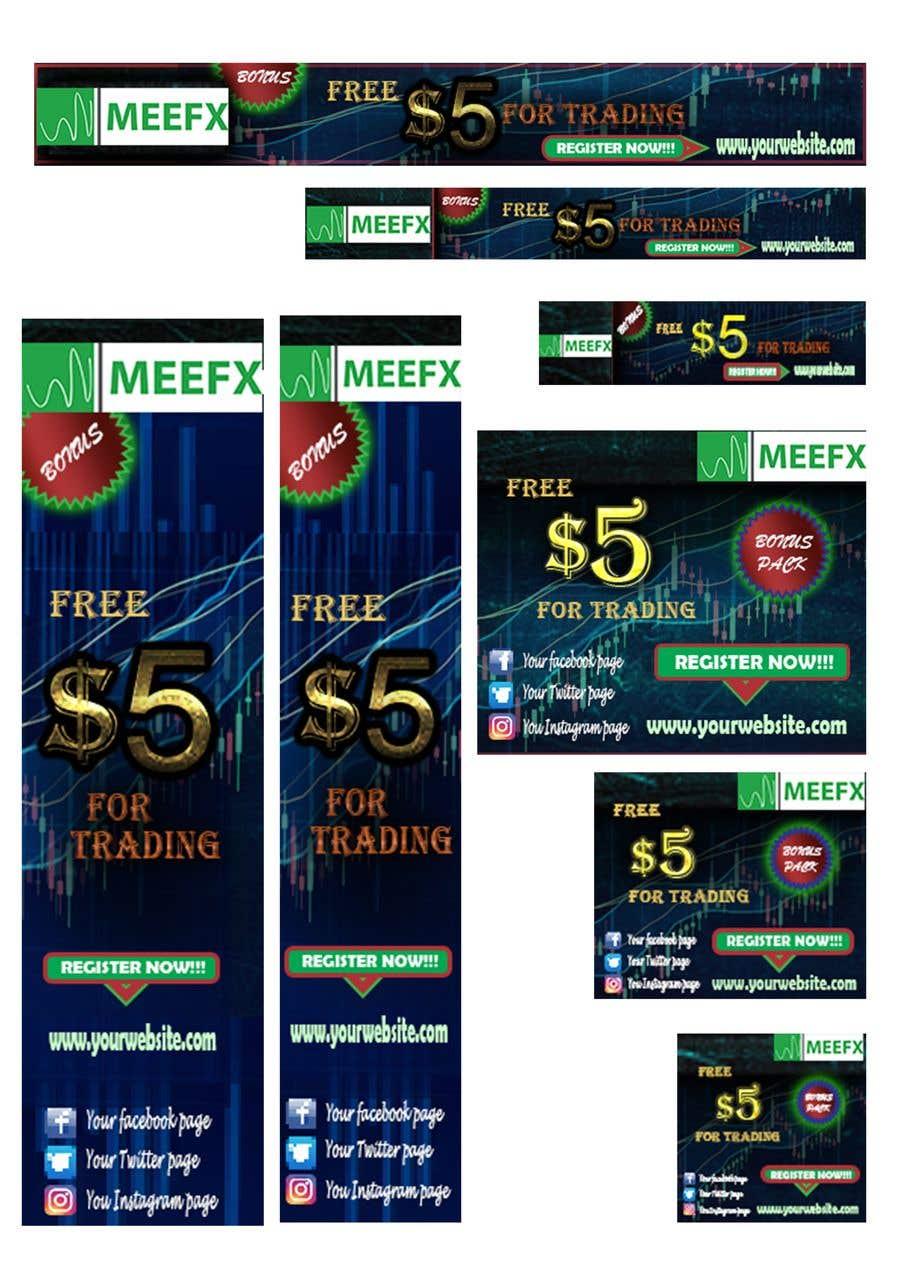 Конкурсная заявка №                                        19                                      для                                         5 usd free banner for forex company