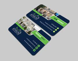 #863 for business card for real estate company by abrarsumon