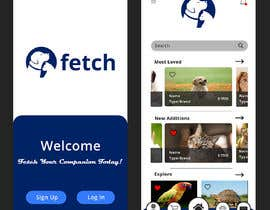 #21 untuk Fetch - Pet Marketplace App Design oleh NJ997