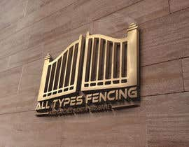 #459 for Fencing Company Full logo design by mdshuvoahmed75